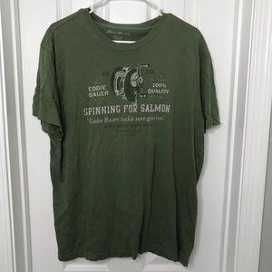 Eddie Bauer Green T Shirt